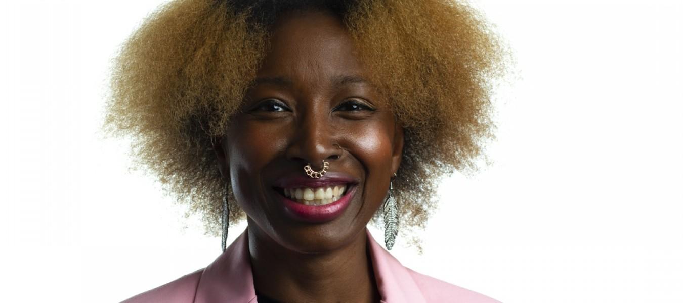 Writer and story-teller Tanya Akrofi
